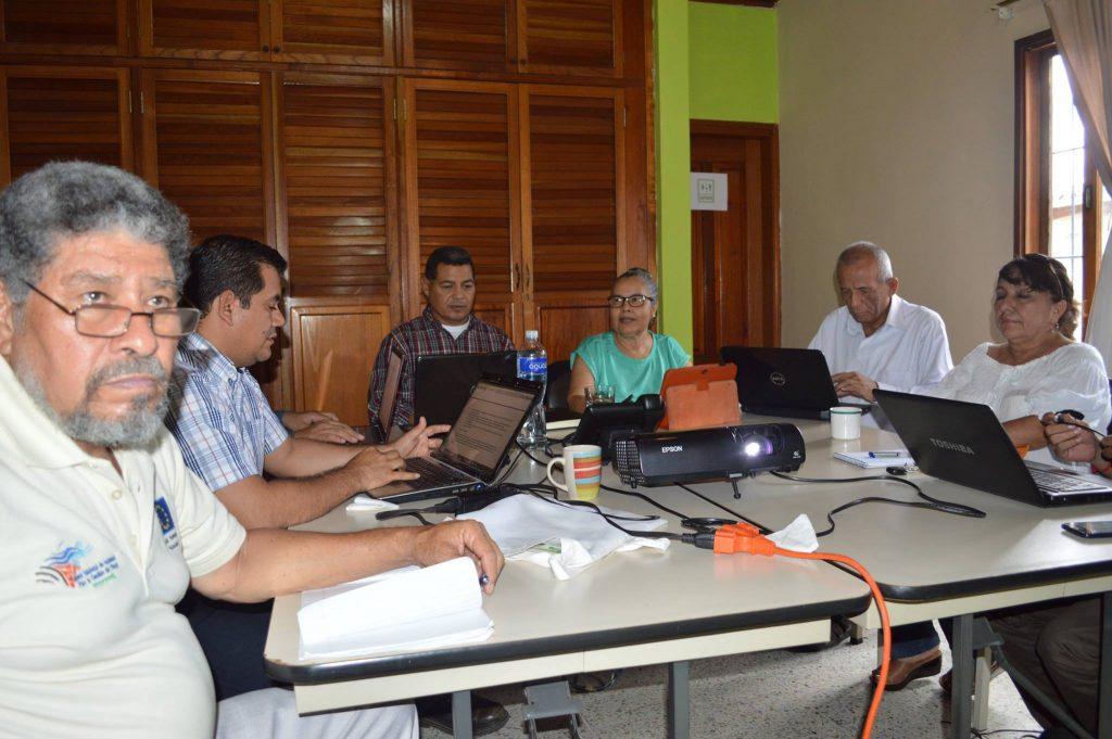 Comisión Política da seguimiento al avance del VII Encuentro regional foro Centroamérica Vulnerable ¡Unida por la vida!