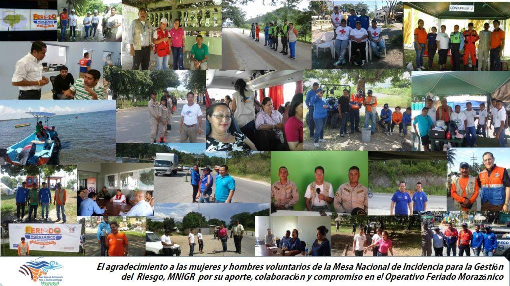 Se Activa la MNIGR en el feriado Morazánico